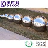 Bola de acero inoxidable hueco 100m m 200m m del jardín 304 decorativos 300m m