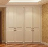 De Europese Garderobe van de Slaapkamer van de Luxe van de Stijl Stevige Houten