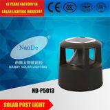 一流の太陽製造業者3Wのポストの太陽ライト