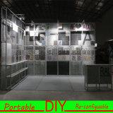 携帯用、多目的で、再使用可能な形によって照らされる展示会ブース