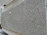 Granito grigio-chiaro 623, mattonelle di colore di prezzi competitivi di pavimentazione del granito