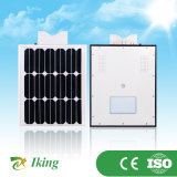 새로운 디자인 통합 태양 가로등 10W LED 램프 (IK-10WS)