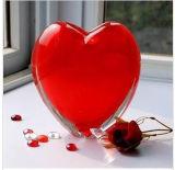 De mooie Rode Ambacht van het Glas van Apple voor Decoratie