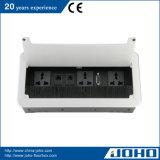 Tipo abierto socket de múltiples funciones de escritorio del cepillo del vector de la aleación de aluminio del socket
