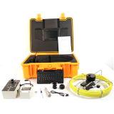 A câmara de vídeo para descobre a fonte de perda de água, de drenagem deficiente, ou de falha de obstrução severa