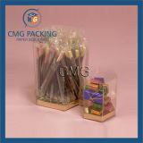 Caixa de embalagem plástica transparente de Macarons (CMG-PVC-029)