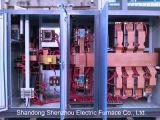 Fornace di inclinazione idraulica del piccolo forno di alluminio