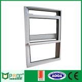 Janela de alumínio | Janela suspensa de alumínio com janela de vidro Pnoc0056shw