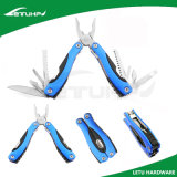 Голубой общего назначения Multi инструмент с анодированной ручкой