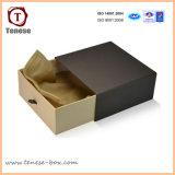 Negro de encargo del cajón Caja de cartón