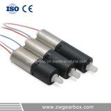 Mini scatola ingranaggi di riduzione 3V del Od 6mm, motori miniatura di CC