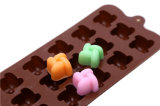 Caramelo del molde del silicón de las herramientas de diseño de la decoración