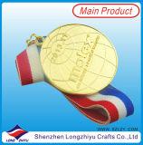 Medaglia di bronzo unica dell'argento dell'oro della medaglia di sport