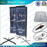 Flag Beach, bandera de la pluma, bandera que vuela, bandera de la publicidad, de la bandera de Promoción (* NF04F06061)