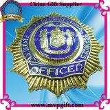 Insigne de police en métal sur mesure pour badge militaire