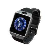 Reloj elegante Dz09 Smartwatch de Bluetooth de la manera para el podómetro androide de la cámara de Apple MP3 MP4 (DZ09)