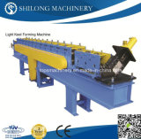 Galvanizado Light Steel Keel Truss V Canal Perfil rolo dá forma à máquina