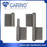 Dobradiça de solda de queda de água pesada para porta metálica (HY851)