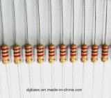 Alta calidad CF1/4W, 1/2W, resistor de la fuente de película 5%Carbon