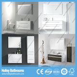 LED Touch Switch Novo Modern High Gloss Paint Bath Gabinete Unidade Design New Style Bathroom Furniture (BF184M)