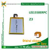 ソニーZ3 L55t L55u D6653 D6633のための高容量3100mAh 3.8Vの電話電池