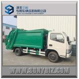 carro de basura del compresor de 4cbm Rhd 4X2