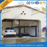 Elevador hidráulico do carro da plataforma dobro para a garagem Home