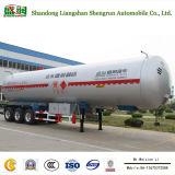 반 중국 3 차축 LPG/액체 휘발유 가스 수송 LPG 탱크 트레일러