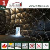 15meter 유리제 문을%s 가진 구조 50 피트 이글루 천막