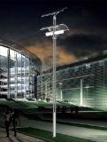 Jiansheng enciende la luz de calle solar de los 5m poste 24W LED