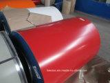 コイルのPPGIのカラーによって塗られるPrepainted鋼板