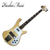 Musique de Hanhai/guitare basse électrique type de Rick avec 4 chaînes de caractères