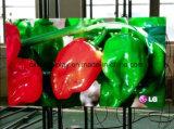Visualizzazione di LED locativa di fusione sotto pressione di alluminio esterna di colore completo dello schermo 480 X480 millimetro P5 RGB del LED per il video della parete della regolazione di fase LED