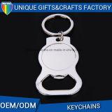 Apri di bottiglia personalizzato alta qualità di Keychain del metallo