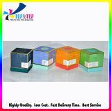 El precio de fábrica de la fragancia de papel cosmética caja con Gaza y Tapa