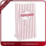 Boîtes à papier aux palourdes fraîches, sacs à papier popcorn, sac à papier à usage quotidien, sac à papier Kraft