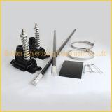 Via palo chiaro del metallo che fa pubblicità al hardware della bandierina (BS-HS-013)