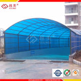 4mm, 6mm, 8mm, 10mm Twin Wall Polycarbonate Roofing Sheets