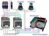 Auto fonte de energia Best Portable Electric Winch de Application e de Electric