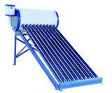 Bas Integrated compact/pression/Unpressure/chauffe-eau chaud solaire de collecteur système à énergie solaire de tube électronique non-pressurisé d'acier inoxydable