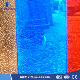 Ghiaccio Flower/Broken Laminated Glass per Decoration Safety Glass