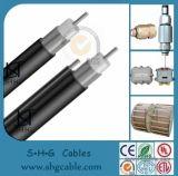 Cable del tronco de CATV cable coaxial Qr540 de 75 ohmios