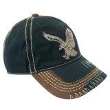 印刷および刺繍(GJWD1727)が付いている方法によって洗浄される野球帽