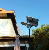 30W éclairage solaire Integrated de jardin de réverbère de la qualité DEL