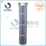 Filterkポリエステル集じん器のためのPTFEによってプリーツをつけられるバッグフィルタ