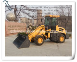Peso de carga avaliado 1.5ton Telescopic Wheel Loader Zl15 with CE