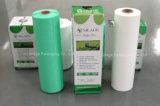 Film d'enveloppe d'extension d'ensilage, largeur 250, 500, couleur de 750mm, d'épaisseur 25um, de blanc, noire et verte pour l'ensilage de maïs, d'herbe et de luzerne