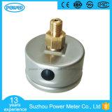demi de type indicateur d'amorçage de dos d'acier inoxydable de 50mm de pression rempli par liquide