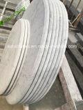 Telha de mármore branca de Arabescato Carrara do atacadista para o revestimento e o dissipador