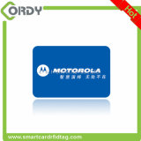 Карточка PVC MIFARE классицистическая 1k RFID пластичная малая с отверстием